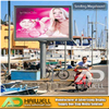 Digital Rotating Scrolling LED Light Box Billboard