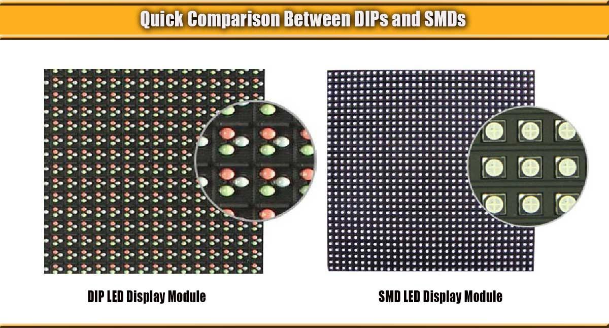 DIP-SMD-LED-modules