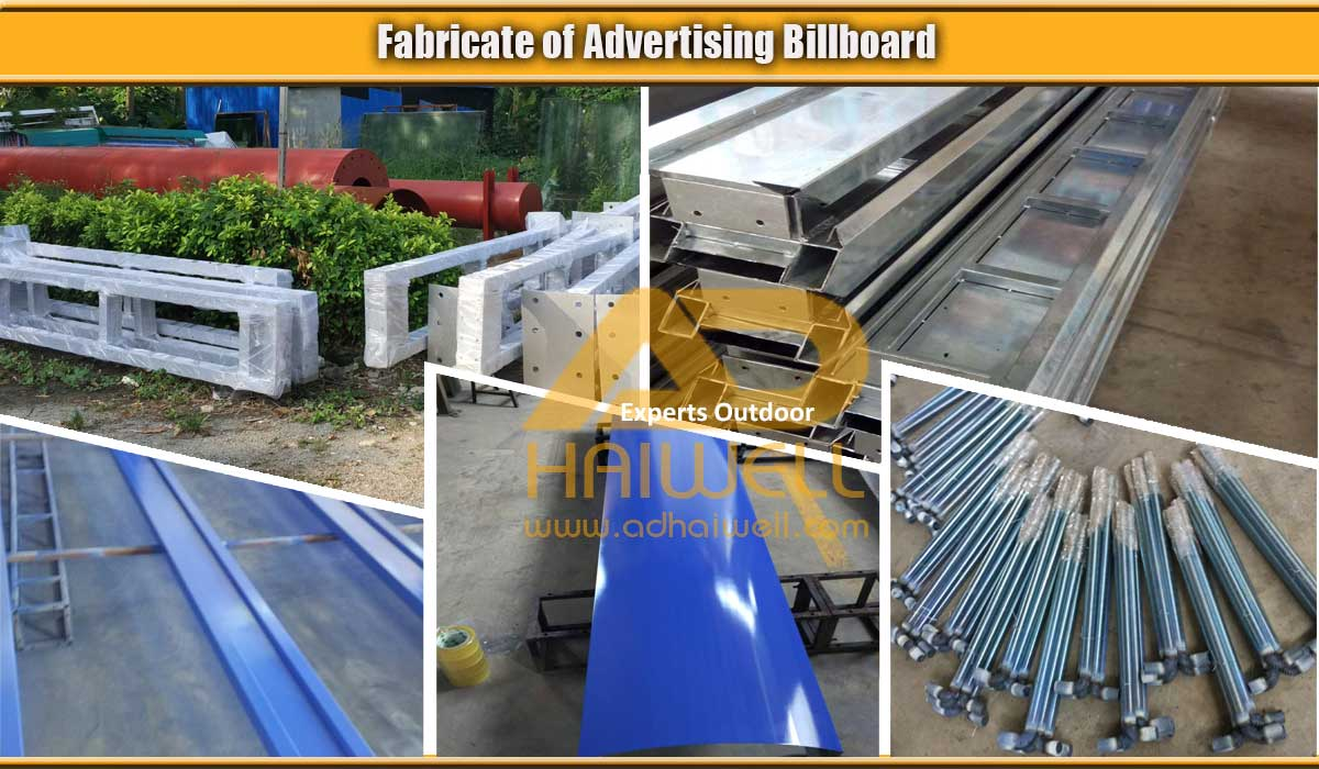 Fabricate-of-Advertising-Billboard-structure-from-Adhaiwell