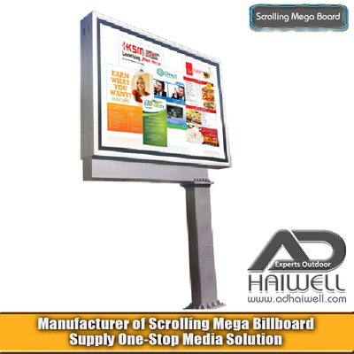 DSMP Scrolling System Mega Board Ads Display