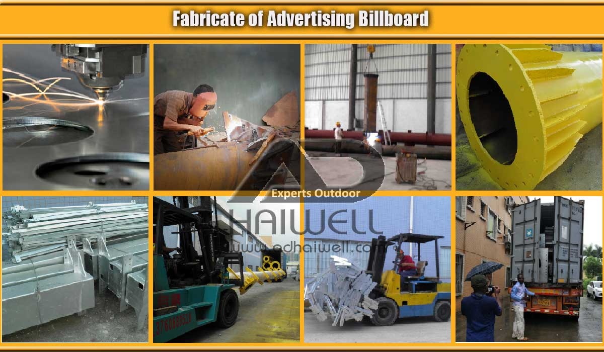 Fabricate advertising production factory