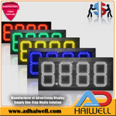 Wholesale 12inch Digits Gas Electronic Price Digital Led Signs