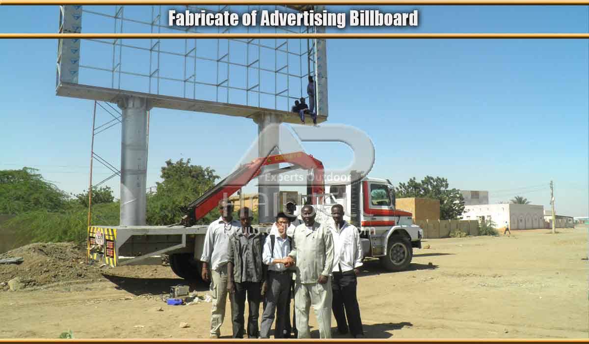 Adhaiwell-Team-install-led-billboard-structure