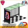 Outdoor Bus Shelters Advertising Street Display Light Box