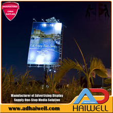 Energy Saving Solar Powered Electronic Advertising Billboards