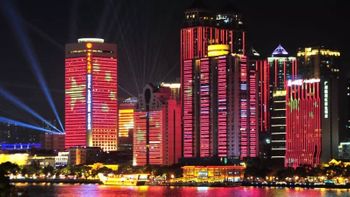 Celebrate 2019 China National Day with Transparent LED Display Show
