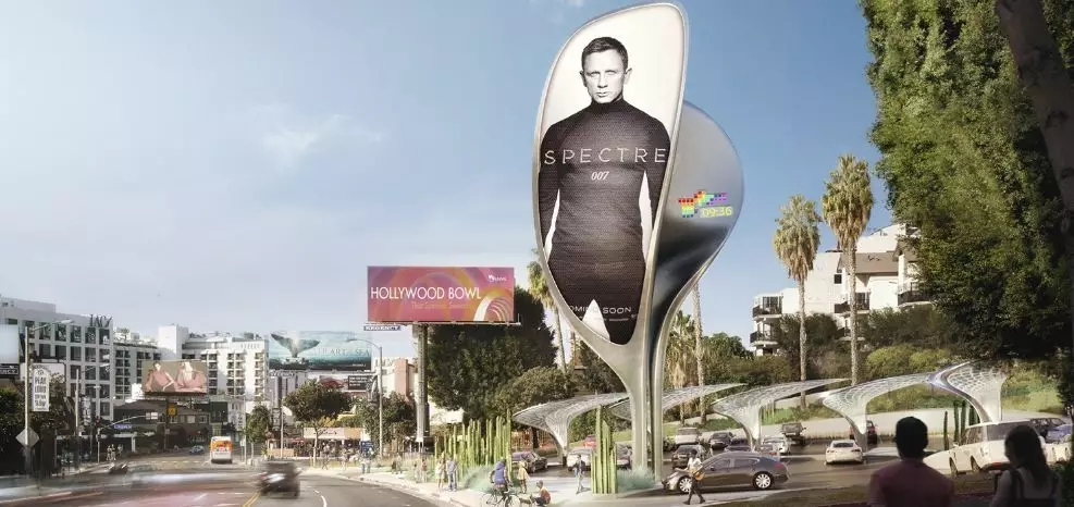 Hollywood Cool LED Billboards Take You To Play with LED Screen